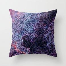 Space mandala 14 Throw Pillow