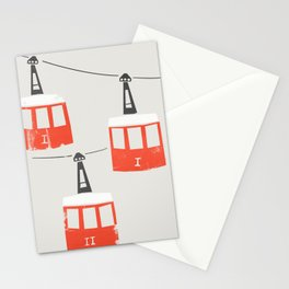 Barcelona Cable Cars Stationery Cards