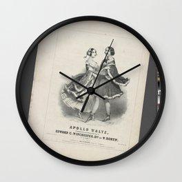 Robyn W Composer JH BufApollo waltz Wall Clock