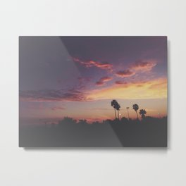 California Sunsets Metal Print
