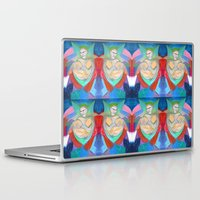 madonna Laptop & iPad Skins featuring Madonna and Child ~ Redux by Bruce Stanfield