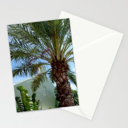 Grand Turk Palm and Building Stationery Cards