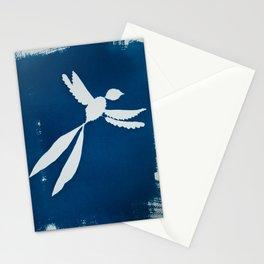 Cyano-scissortail Stationery Cards