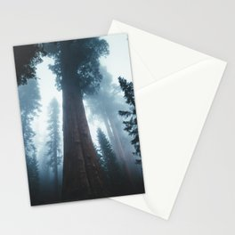 General Sherman in the Mist Stationery Cards