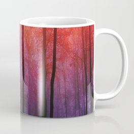 Whispering Woods, Colorful Landscape Art Coffee Mug