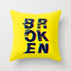 Typo Throw Pillow