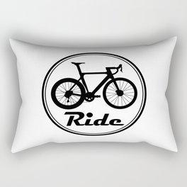 Road Bike Logo Rectangular Pillow