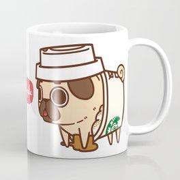 Puglie Pugkin Spice Latte Coffee Mug