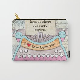 Typewriter #6 Carry-All Pouch