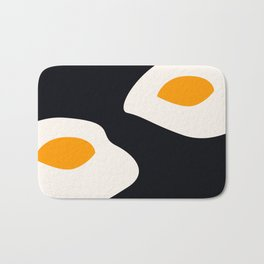 fried eggs Bath Mat