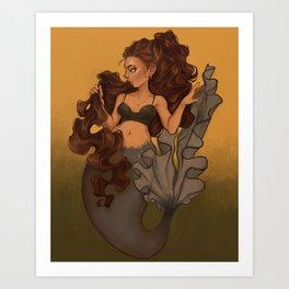 Gold Shine Art Print