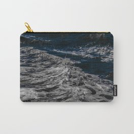 Snow Day - Sea foam on water in San Francisco Carry-All Pouch