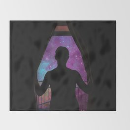 GLIMPSE OF THE UNIVERSE Throw Blanket
