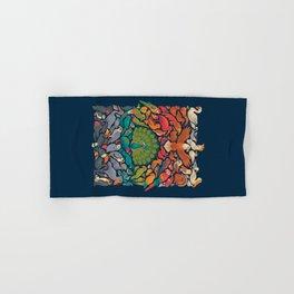 Aerial Spectrum : Blue Hand & Bath Towel