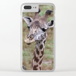 Giraffe Clear iPhone Case