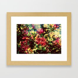 Double Exposure - Hana Framed Art Print