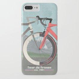 Tour De France Bicycle iPhone Case