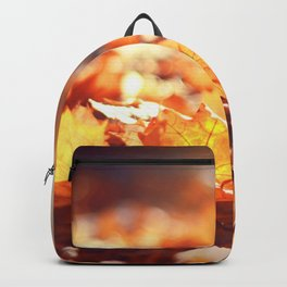 Autumn Leafs (Color) Backpack