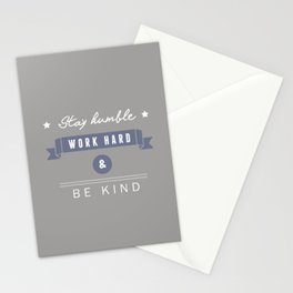 At work Stationery Cards