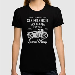 authentic motorcycle T-shirt