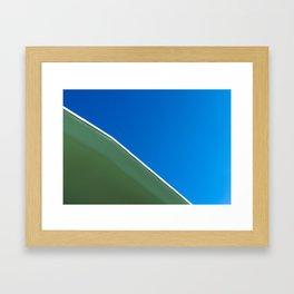 Slightly Slanted Framed Art Print