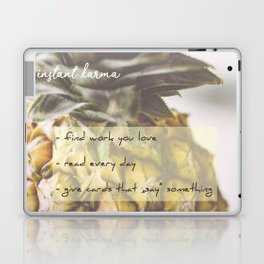 Instant Karma Laptop & iPad Skin