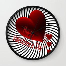 Valentine's Day -4- Wall Clock