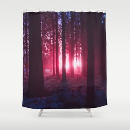Mothership Has Landed Shower Curtain