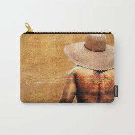 The colorful man Carry-All Pouch