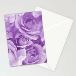 Violet Rose Bouquet For You - Valentine's Day #decor #society6 #homedecor Stationery Cards