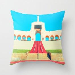 Bright Coliseum Throw Pillow