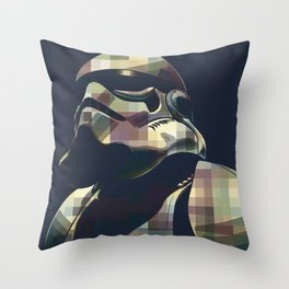 Star War | Storm Trooper Color Square * Movies Inspiration Throw Pillow