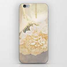 White Hydrangea iPhone & iPod Skin