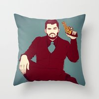welcome Throw Pillows featuring Welcome by FalcaoLucas