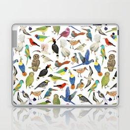 Endangered Birds Around the World Laptop & iPad Skin