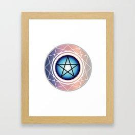 The Pentagram Framed Art Print