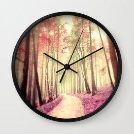 Dreamwalk Wall Clock