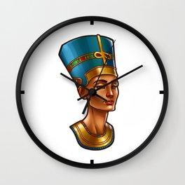 Nefertiti's Quest : Nefertiti Wall Clock