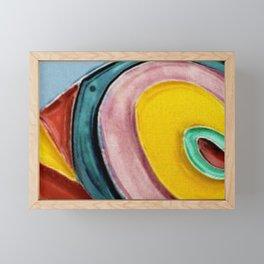 The Kandinsky's Chubby Bird 2 Framed Mini Art Print