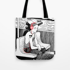 As The Lights Go By Tote Bag