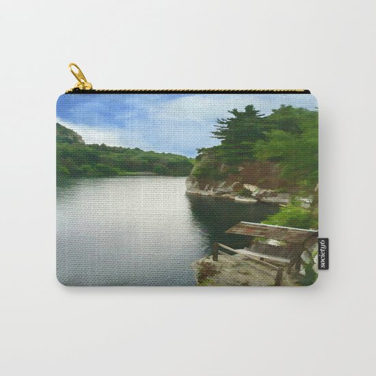 Majestic Mohonk Lake Carry-All Pouch