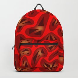 Heartstrings Red Backpack