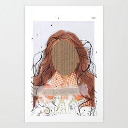 debo ser yo mismo Art Print