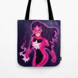 With Violet Light / Star Sapphire Tote Bag