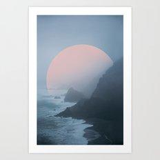 New Zealand Coast II Art Print