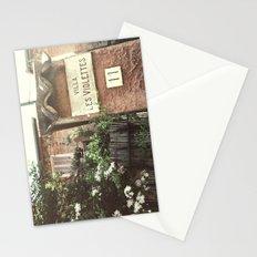 Villa Les Violettes Stationery Cards