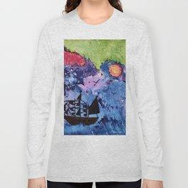 Stormy Sea Long Sleeve T-shirt