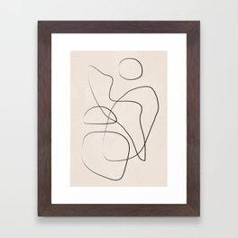 Abstract Line I Framed Art Print