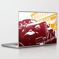 law Laptop & iPad Skins featuring The Law by Steel Graphics