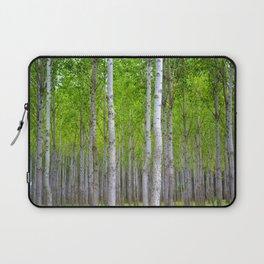 white woods Laptop Sleeve